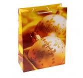 """Пакет подарочный """"Золотые украшения"""" 20см х 24см"""