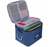 """Сумка для документов с кодовым замком Home Comfort """"Семейный архив"""", цвет синий"""