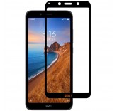 Защитное стекло для Xiaomi Redmi 7A (Black)