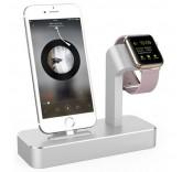 Подставка - док станция для Apple iPhone, Apple Watch из алюминия