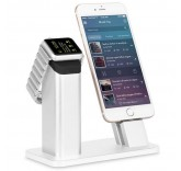 Подставка - док станция для Apple iPhone, Apple Watch из алюминия BlackMix DS-2