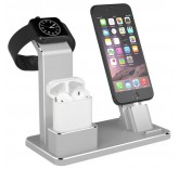 Подставка - зарядная станция для iPhone, AirPods, Apple Watch BlackMix DS-3