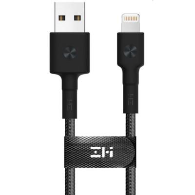 Купить Кабель Xiaomi ZMI USB - Lightning MFi Kevlar Cable Black 200 см (AL833) с доставкой по России