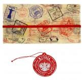 Туристический конверт для документов + бирка для чемодана Это Россия детка