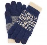 Сенсорные перчатки Xiaomi синие