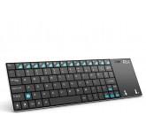 Беспроводная мини клавиатура Rii mini K12+ (RT-MWK 12+) (Black)