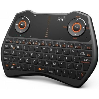 Купить Беспроводная мини клавиатура+мышь+пульт Rii mini ONE RT-MWK28 (Black) с доставкой по России