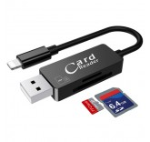 Card Reader и дата кабель Lightning  для Iphone/ipad (Black)