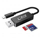 Card Reader и дата кабель Lightning  для Iphone/ipad (Black)