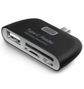 USB 3.1 Type-C Card Reader 3 в 1