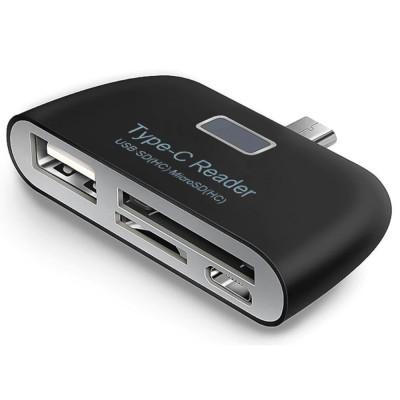 Купить  USB 3.1 Type-C Card Reader 3 в 1 с доставкой по России