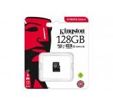 Карта памяти Kingston micro SDCX 128GB 80MB/s class 10