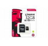 Карта памяти Kingston micro SDCX 32GB 80MB/s class 10