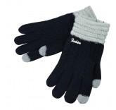 Сенсорные перчатки Cheng утепленные (Черные)