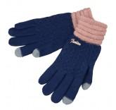 Сенсорные перчатки Cheng утепленные (Синие)