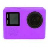 Силиконовый чехол для GoPro HERO3/3+ фиолетовый