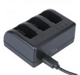 Зарядное устройство для 3-х аккумуляторов GoPro Hero 5/6, Hero 5 Session
