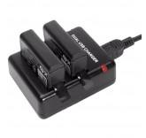 Зарядное устройство для 2-х аккумуляторов GoPro Hero 4, Hero 4 Session