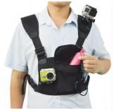 Держатель для 2-х экшн камер на грудь и плечо