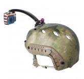 Универсальное крепление на шлем для экшн камер