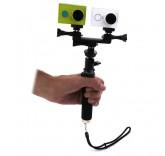 Универсальный набор креплений на 2 экшн камеры