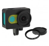Противоударная рамка + UV фильтр для Xiaomi Yi камеры