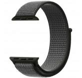 Нейлоновый ремешок Sport Loop Dark Olive для часов Apple Watch 42mm