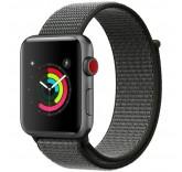 Нейлоновый ремешок Sport Loop Dark Olive для часов Apple Watch 38mm