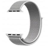 Нейлоновый ремешок Sport Loop Seashell для часов Apple Watch 42mm
