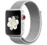 Нейлоновый ремешок Sport Loop Seashell для часов Apple Watch 38mm