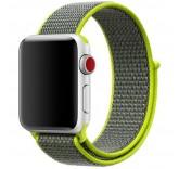 Нейлоновый ремешок Sport Loop Flash для часов Apple Watch 38mm