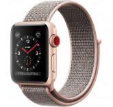 Нейлоновый ремешок Sport Loop Pink для часов Apple Watch 38mm