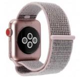 Нейлоновый ремешок Sport Loop Pink для часов Apple Watch 42mm