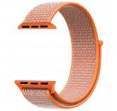 Нейлоновый ремешок Sport Loop Spicy Orange для часов Apple Watch 42mm
