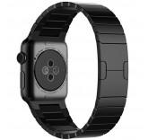 Блочный браслет Link Bracelet Black для часов Apple Watch 38mm
