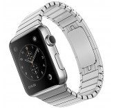 Блочный браслет Link Bracelet Silver для часов Apple Watch 42mm