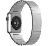 Блочный браслет Link Bracelet Silver для часов Apple Watch 38mm