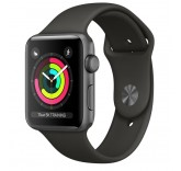 Часы Apple Watch Series 3 38mm Aluminum Case with Sport Band (Grey) MR352
