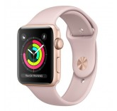 Часы Apple Watch Series 3 38mm Aluminum Case with Sport Band (Rose Gold) MQKW2