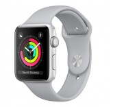 Часы Apple Watch Series 3 42mm Aluminum Case with Sport Band (Silver) MQL02