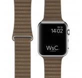 Кожаный ремешок Leather Loop Brown для часов Apple Watch 42mm