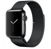 Часы Apple Watch Series 2 38mm with Milanese Loop (Black) MNPE2