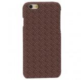 Чехол бампер для iPhone 6 Plus замшевый (коричневый)