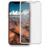 Защитное стекло для Apple iPhone X белое (BlackMix)