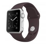 Силиконовый ремешок для часов Apple Watch 42mm (Brown)
