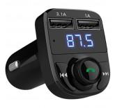 Автомобильный Bluetooth FM трансмиттер Handsfree Car Kit HY-82