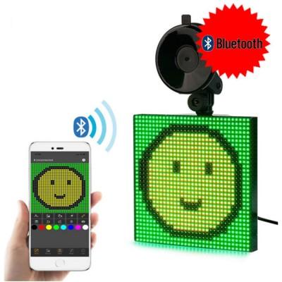 Купить Светодиодный дисплей для автомобиля LED Emoji с доставкой по России