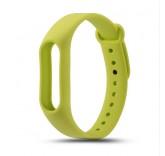 Силиконовый браслет для фитнес трекера Xiaomi Mi Band 2 (Зеленый)