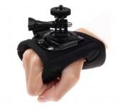Держатель перчатка на руку для экшн камеры