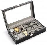 Шкатулка для хранения 6-ти часов и очков Home Comfort Storage Box